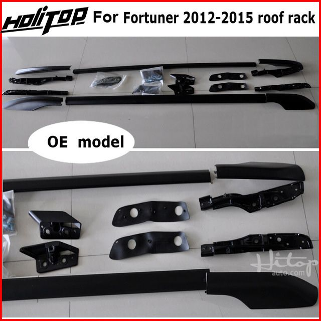 roof rack roof bar roof rail for Toyota old Fortuner 2011-2015, aluminum alloy+ABS, original design, promotion price