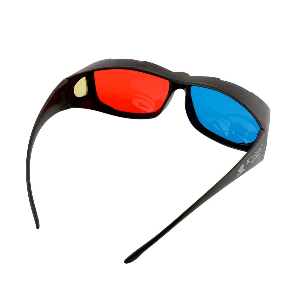 Hohe Qualität Rot Blau 3d-brille für 3d-heimkino Dimensional Movie DVD juegos Spiel Theater FÜHRTE Projektor Android