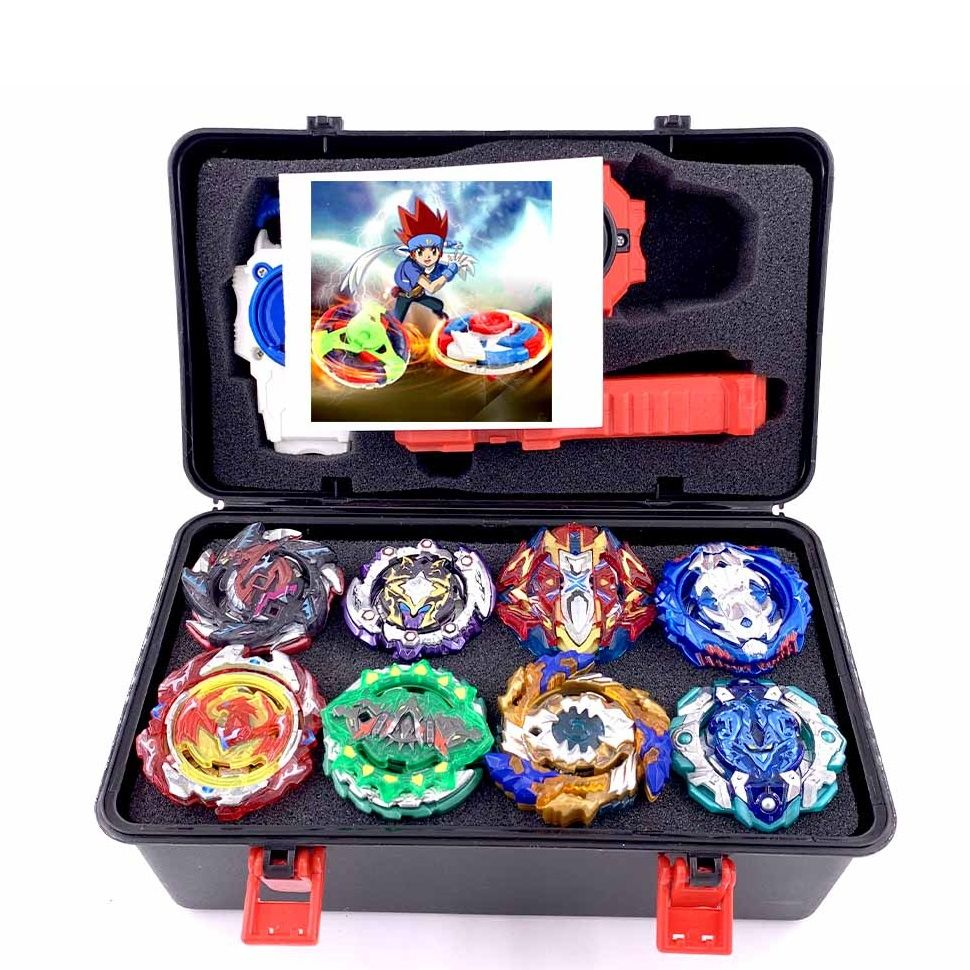 Hot set Beyblade Arena Spinning Top Metal Fight Bey blade Metal Bayblade Stadium Children Gifts Classic Toy For Child