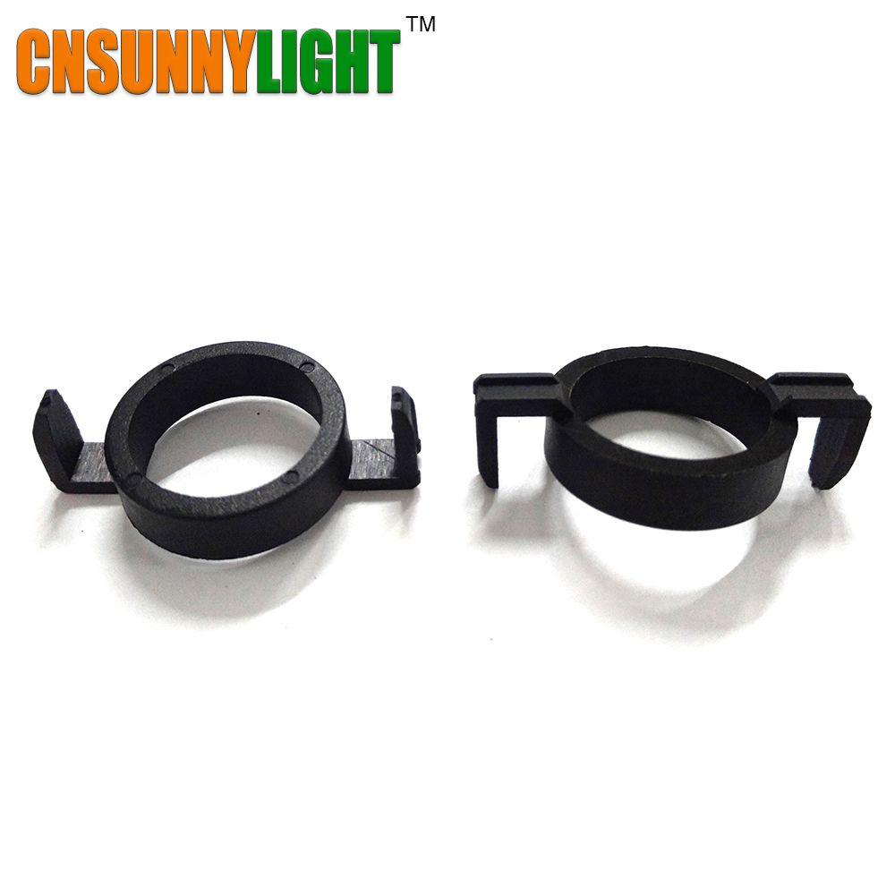 H7 LED Clip Retainer Adapter Holder for Peugeot 508 2008 3008 H7 LED Headlight Bulb Adaptor Base for Citroen for Ford Mondeo