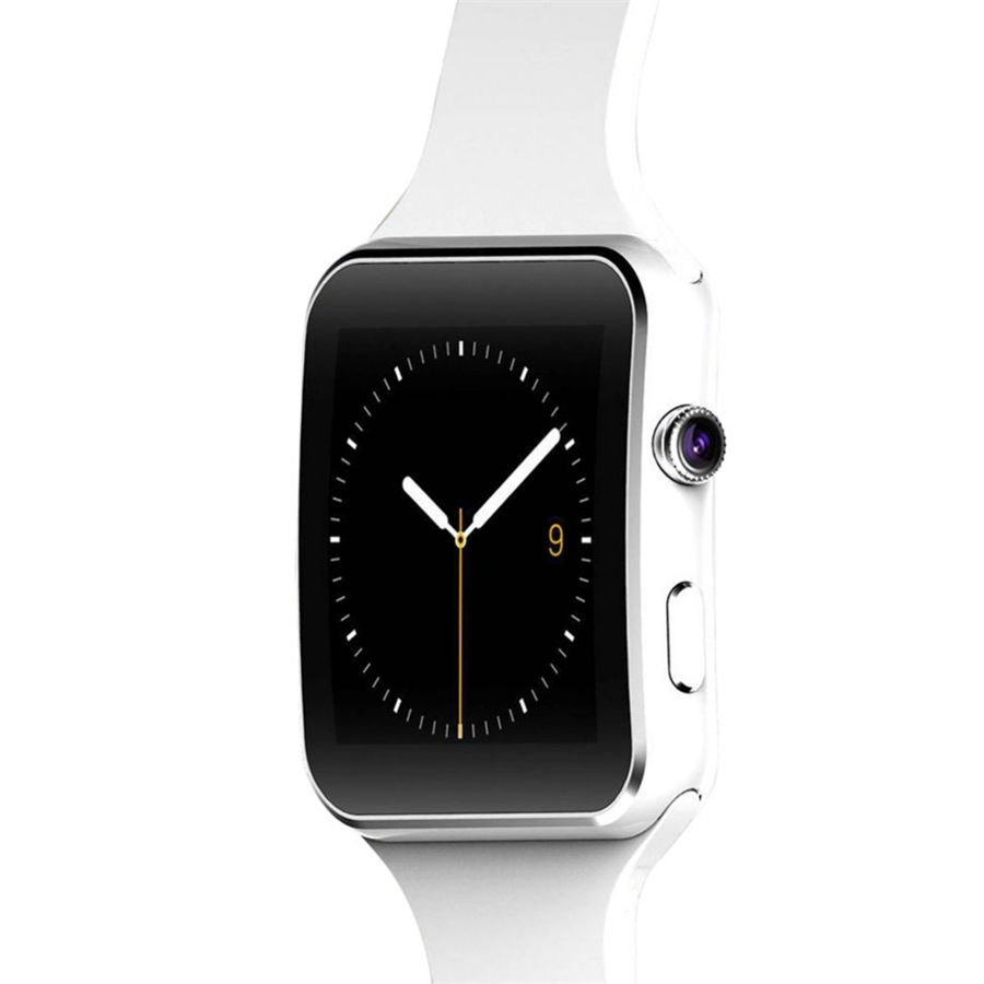 Nouveau Bluetooth Montre Smart Watch X6 Smartwatch Fitness Tracker Sync Message pour iPhone Android Avec Support de Caméra Carte SIM TF