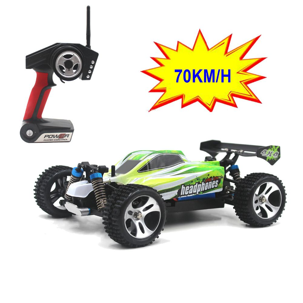 70KM/H New Arrival 1:18 4WD RC Car JJRC A959 Updated Version A959-B 2.4G Radio Control Truck RC Buggy Highspeed Off-Road A979