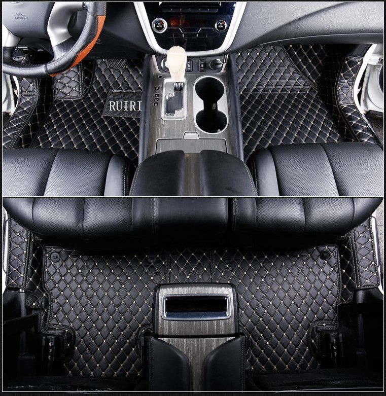 High quality! Special car floor mats for Nissan Murano Z52 2018-2015 durable waterproof carpets for Murano 2016,Free shipping