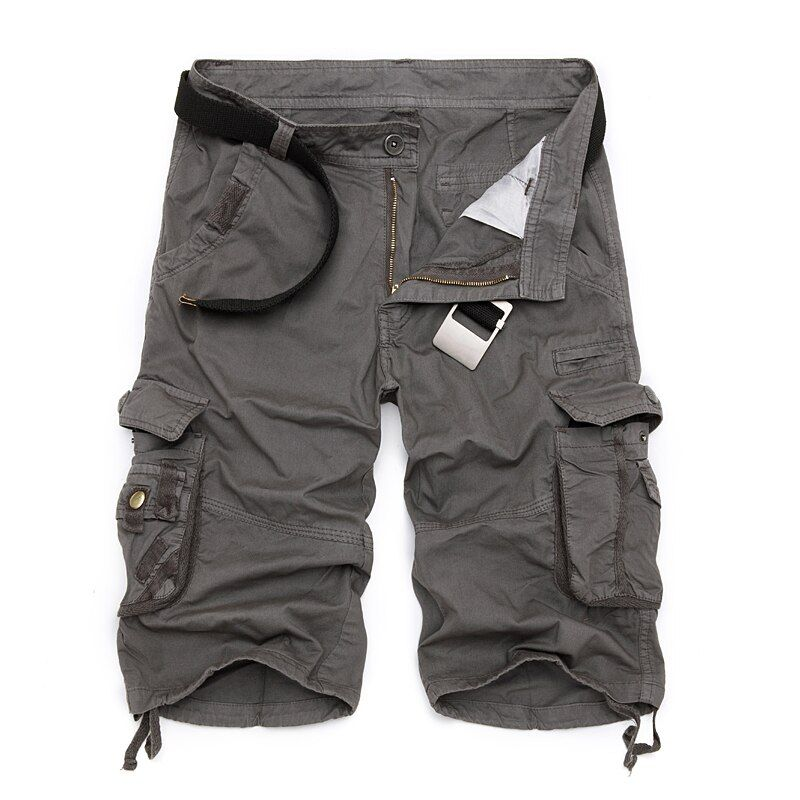 Mens Military Cargo Shorts 2018 Brand New Army Camouflage Tactical Shorts Men Cotton Loose <font><b>Work</b></font> Casual Short Pants Plus Size