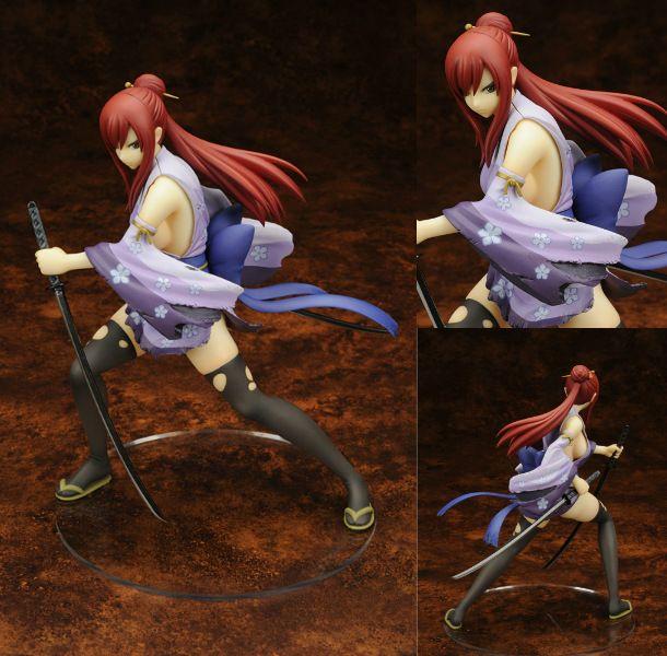 Fairy Tail 2 Édition Erza Scarlet Poupée 1/7 échelle peinte Action PVC figure Sexy Mignon Fille de collection Modèle Jouets Anime