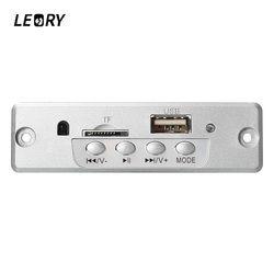 LEORY Bluetooth MP3 Decoder Board Mini Wireless Car Audio Amplifier Board With USB U Disk Port TF Card Slot For MP3 WMA WAV