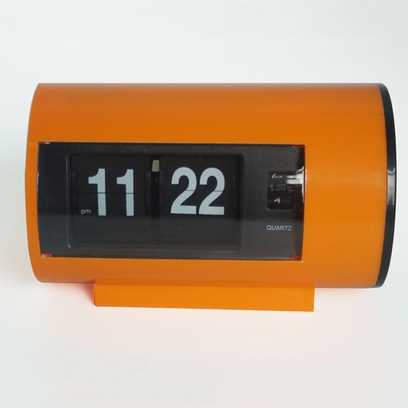 Rétro Horloge de Table Auto Flip Horloge 12 Heures AM/PM Format D'affichage de Montre Horloge De Bureau Flip Page Tournant Horloges