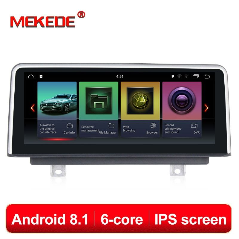 PX6 Android 8.1 auto dvd player für BMW F30/F31/F34/F20/F21/F32/F33 /F36 original NBT system autoradio gps navigation multimedia