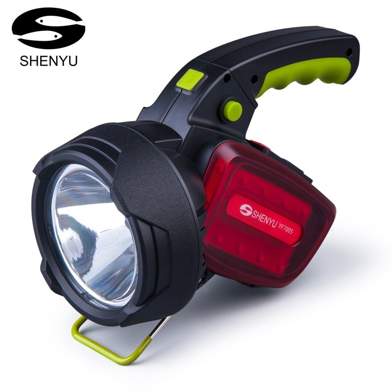 SHENYU Super Bright Outdoor Handheld Portable USB Rechargeable Flashlight Torch Searchlight Multi-function Long Shots Lamp