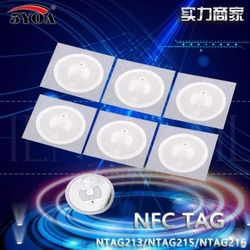 10 шт./лот NTAG213 Ntag215 Ntag216 NFC тег стикеры ключевые теги llaveros llavero маркер Patrol Универсальный самоклеящаяся RFID-метка