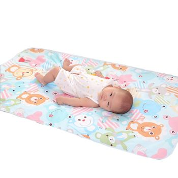 Cartoon Cotton Diaper pad Baby Waterproof Mat Large Baby Mat Cover Infant Urine Pad Mattress Sheet Protector Bedding YYT305
