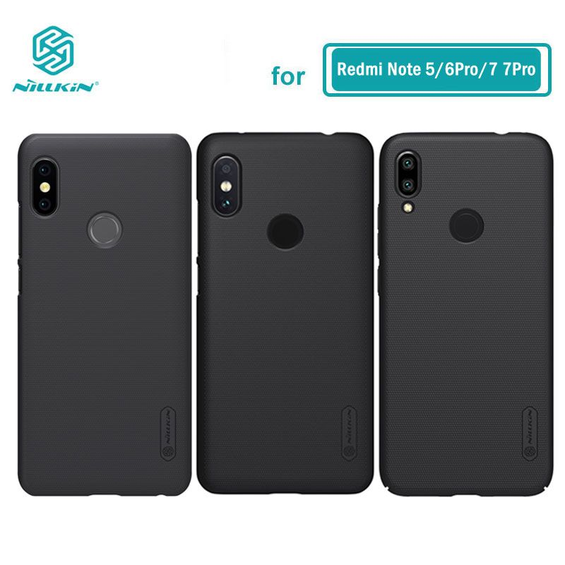 Xiaomi Redmi Note 7 Case Note 5 Cover NILLKIN Frosted PC Hard Back Case for Xiaomi Redmi Note 5 6 Pro Global Version