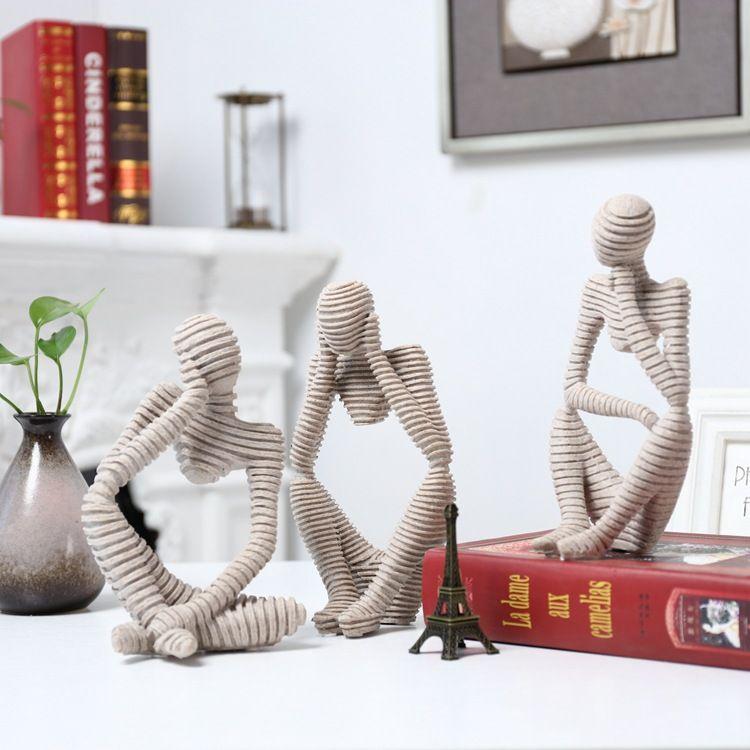 Kreative Wohnkultur EINE Dekoration Sie Gekauft Ohne Bedauern, Wohnzimmer Büro, Sandstein Zeichnung Figuren Dekoration Ornamente