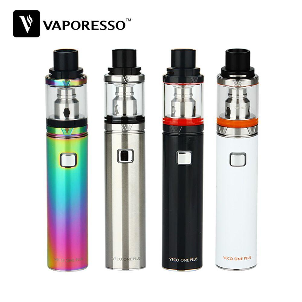 100% Original Vaporesso VECO ONE Plus Starter Kit 3300mAh Battery 4ml VECO Plus Tank 0.3ohm EUC Coil E Cig VECO ONE Plus Kit
