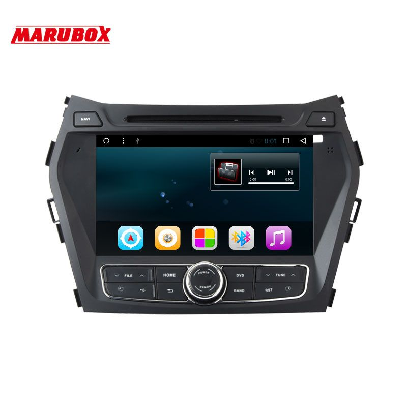 MARUBOX M8A302R16 Car DVD GPS Multimedia Player For Hyundai IX45 Santa Fe 2012-2014 Android 6.0.1 8 inch 1024x600
