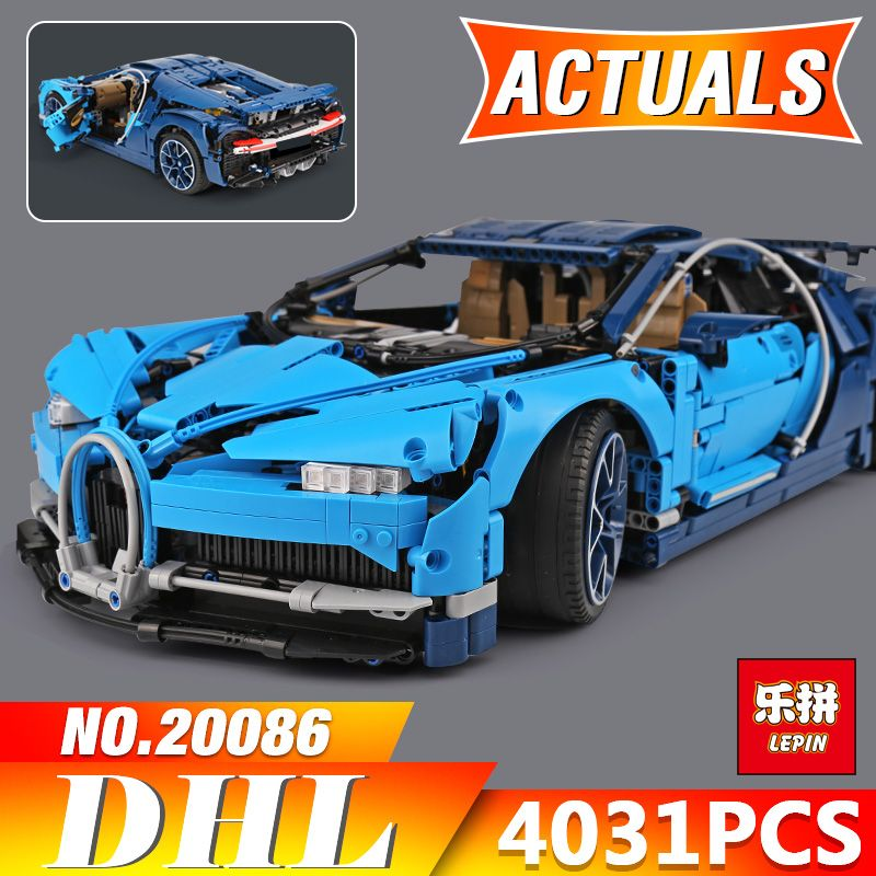 2018 New Lepin 20086 Technic Series Supercar Building Blocks Bricks Educational Toys Compatible 42083 to Boy Gifts Model 4031PCS