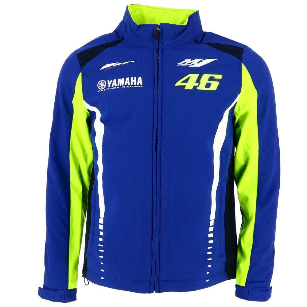 NEW 2017 Valentino Rossi VR46 M1 Racing Team For Yamaha MotoGP Soft Shell Jacket