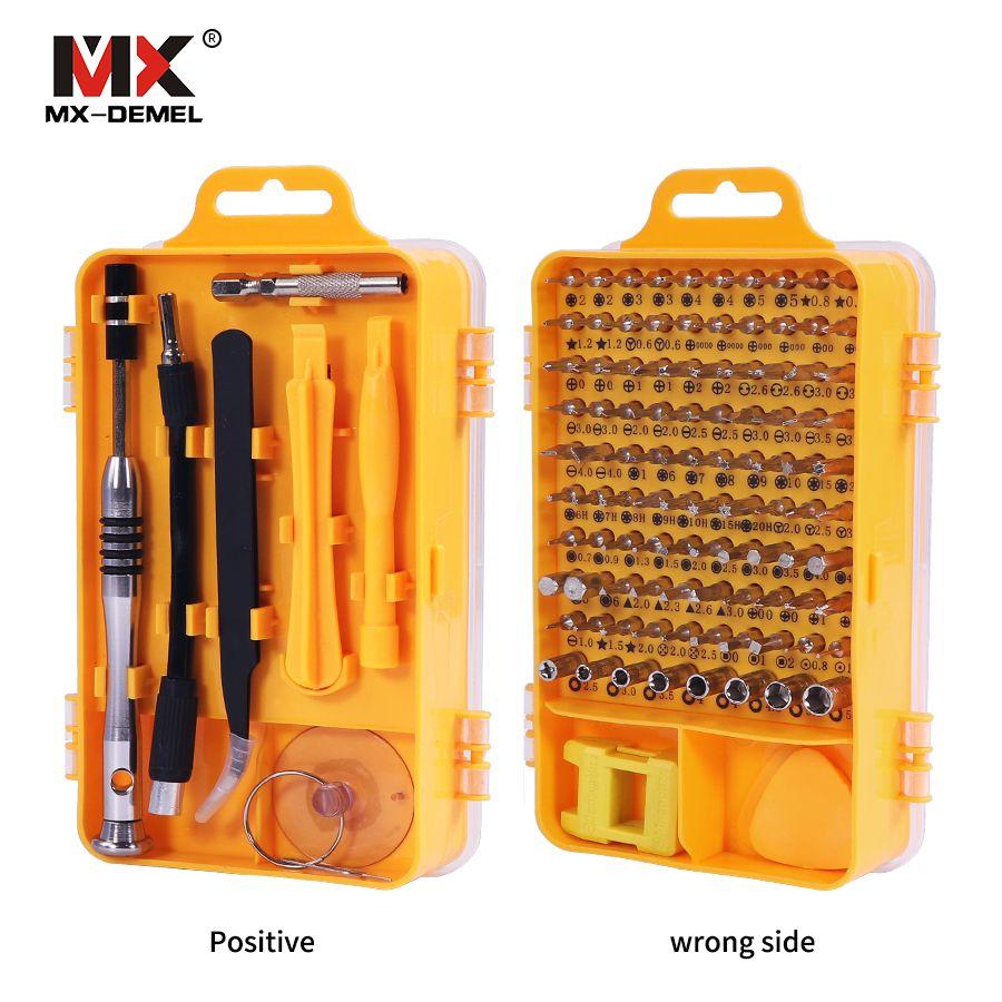 Marque 108 en 1 Tournevis Ensembles Multi-fonction Ordinateur De Réparation Outils Outil Essentiel Numérique Mobile Téléphone Repair Tool Kit