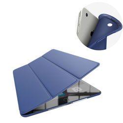 Кожаный чехол для нового iPad 9.7 дюймов 2017 ультра тонкий чехол для iPad 9.7 мягкий чехол кремния Чехол + протектор