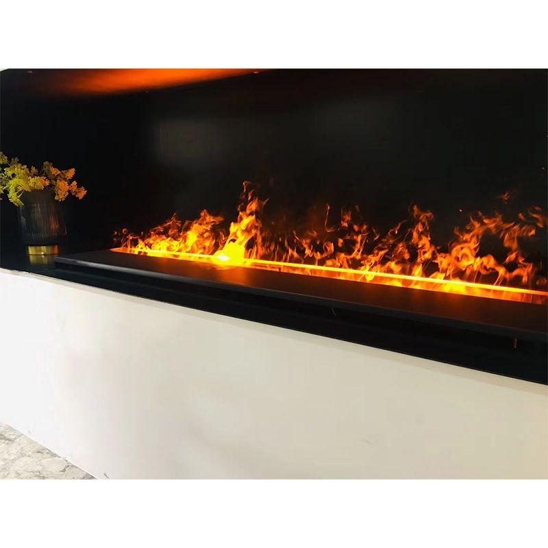 Wasser Dampf Kamin/Kind Sicher LED Flammen von Feinen Plumes von Dampf/Ventless Realistische Elektrische Kamine für Wohnung