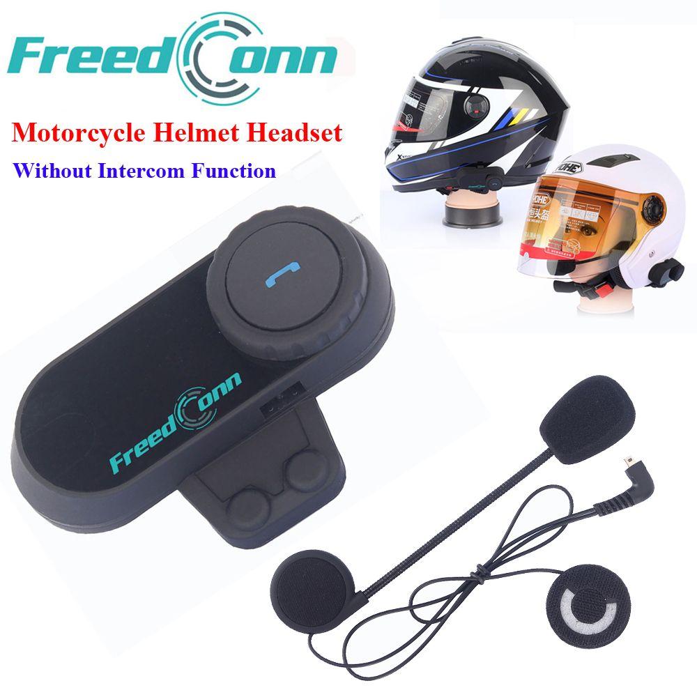 Motorcycle Helmet Stereo Headphone Waterproof Wireless Headsets Helmets Bluetooth Hand Free Headphone without Intercom Function