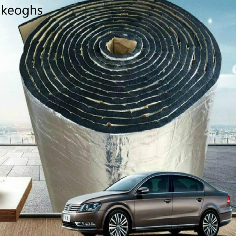 engine cover insulation car noise insulation car sound deadener thickness 7mm soundproof cotton free shipping