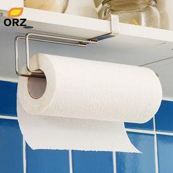 Держатель кухонной бумаги вешалка рулон ткани вешалка для полотенец для ванной унитаз раковина висячий Органайзер на дверь крюк для хранен...