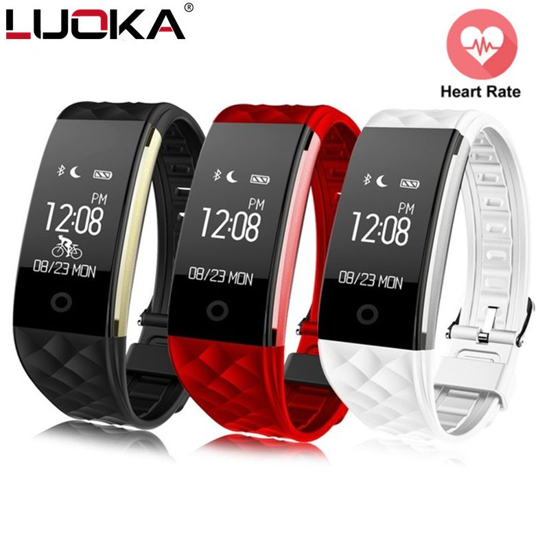 Sport Smart Bracelet Heart Rate Monitor IP67 Fitness Bracelet Tracker Smart Wristband Bluetooth For Android IOS PK miband 2