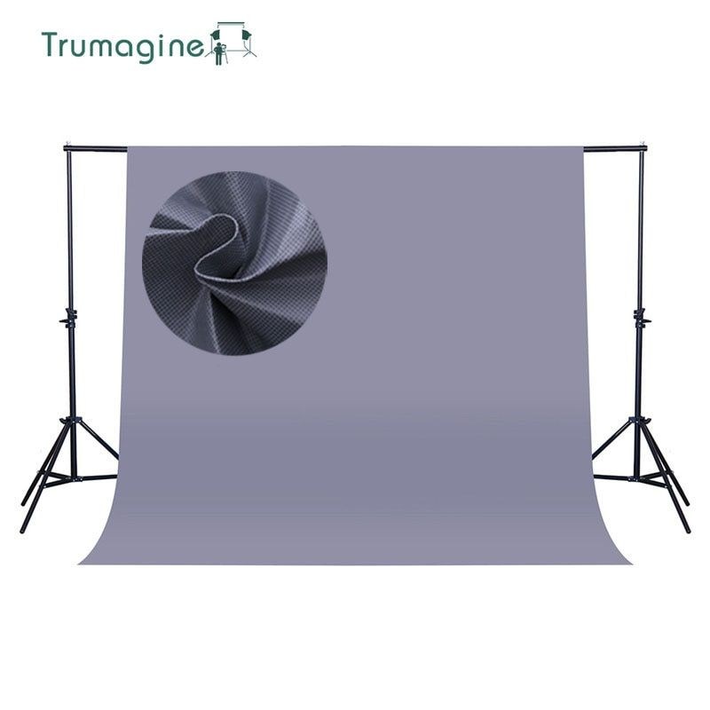 1.6*4M/5.2*13Ft Gray Screen Photo Background Photography Studio Backdrops Non Woven Solid Color Chroma key Backdrop