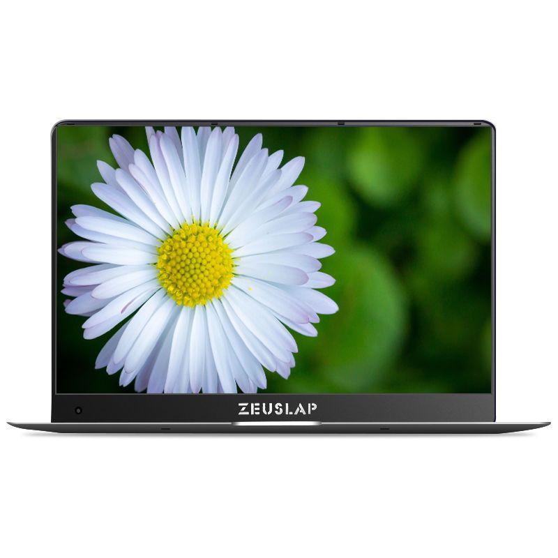 ZEUSLAP 15.6inch 6GB RAM 64GB SSD 1920X1080 FHD IPS Screen Apollo Lake N3450 Quad Core Windows 10 Ultrabook Laptop Notebook