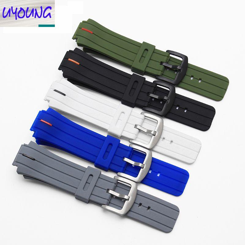 Nouveau Bracelet En Caoutchouc, Bracelet En Silicone étanche, 26*18mm 18x Montre Timex Accessoires Bracelet