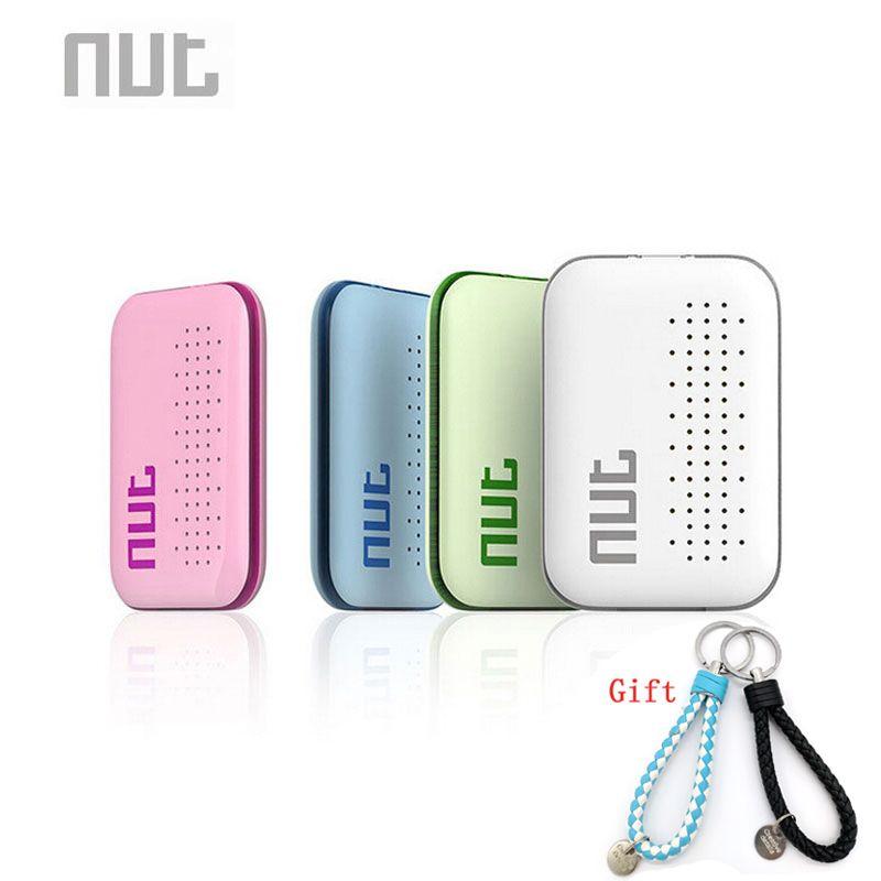 Écrou Mini étiquette intelligente Bluetooth détecteur de clé détecteur alarme Anti-perte portefeuille Pet enfant localisateur (vert/blanc/rose/bleu)