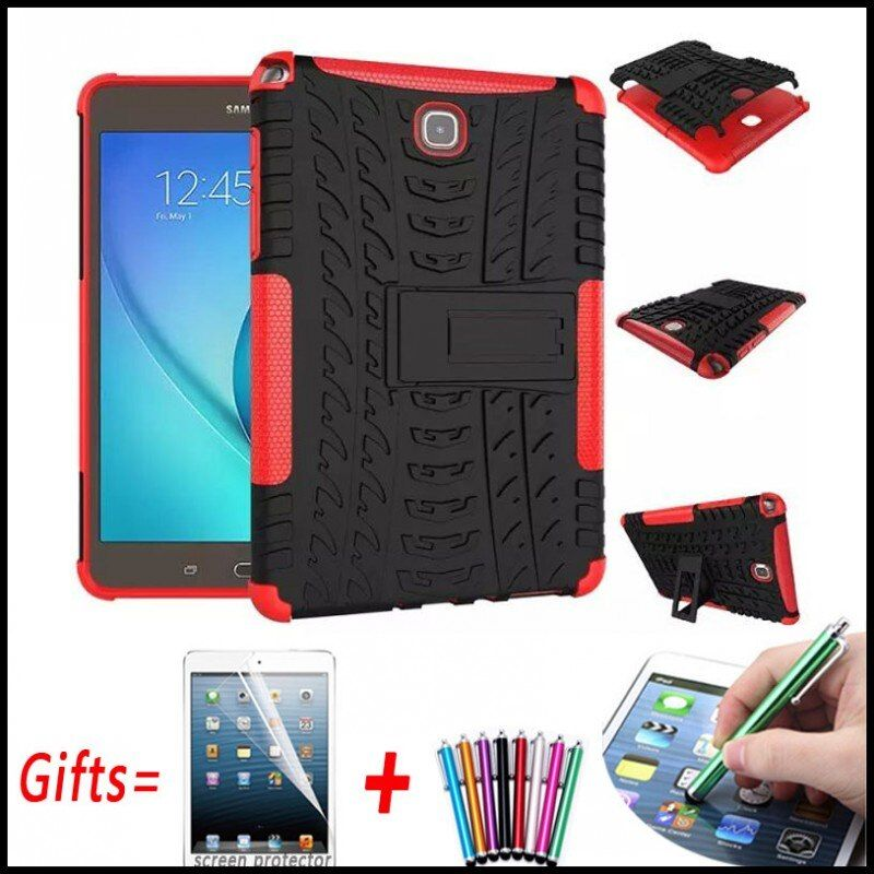 Robuste Armure Hybride Couverture Rigide Pour Samsung Galaxy Tab A 8.0 T350 T355 Coque pour Samsung Galaxy Tab A 8.0 P350 P355 avec Support