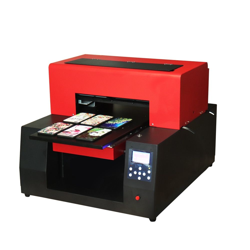 2018 Automatic A3 UV flatbed printer Wood Printing Machine Uv Flatbed Printer For Card Glass Ceramic bottle