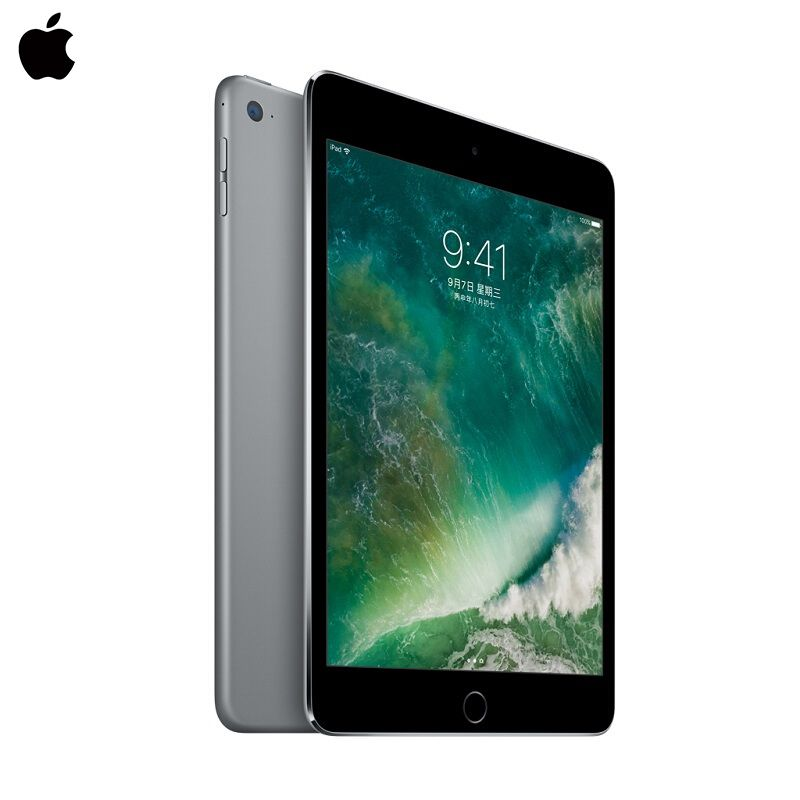 Apple iPad Mini4 7.9 inch Tablets 128G WiFi Retina Display A8 Chip Two HD Cameras 10 Hours Battery Life Touch ID Apple Mini 4