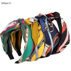 DPSaiLYY 1 PC Freies Verschiffen Knoten Haarband Stirnband für Frauen Elastische Turban Stirnband Sport Kopf Wrap Headwear Haar Zubehör