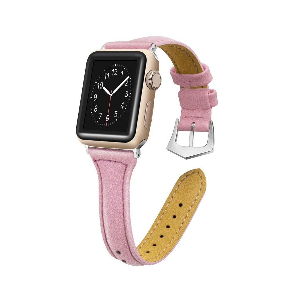 Bracelet en cuir pour Apple bracelet de montre 4/3 42mm 38mm i bracelet de montre 44mm 40mm bracelet montre correa bracelet pour Apple montre 4 3 2 1