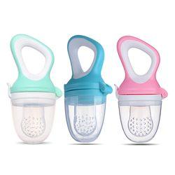 1 Pcs Alimentation Chargeur Dentition Sucette Bébé bébé Fruits Jouet Silicone de Dentition