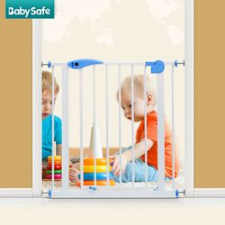 100 CM Tinggi Tangga Gerbang 82-90 Cm Lebar Bayi Safety Gate Gate Gerbang Rumah Hewan Peliharaan Isolasi Pintu warna Putih