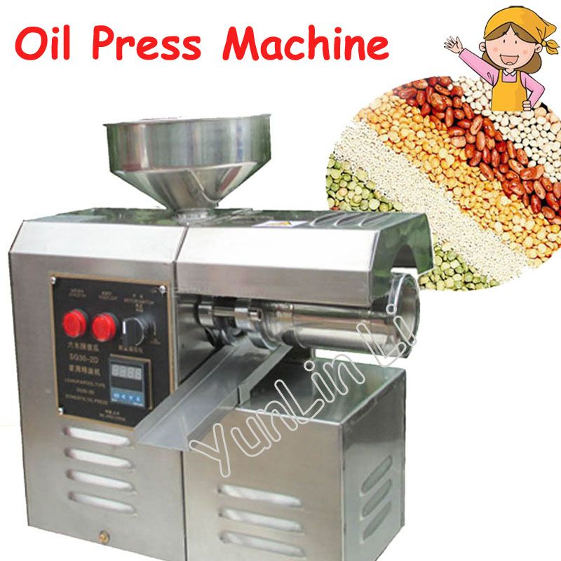 Domestic Oil Press Machine High Oil Extraction Rate Labor Saving stainless steel Oil Presser SG30-2D