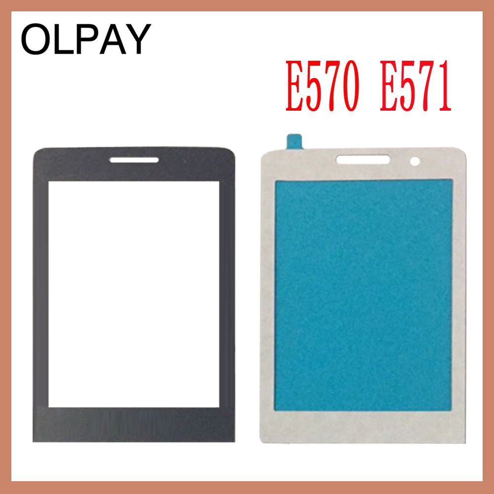 Front Glass Lens For Philips Xenium Philips E560 CTE560 E570 E571 X5500 Not Touch Screen Digitizer By Free Shipping