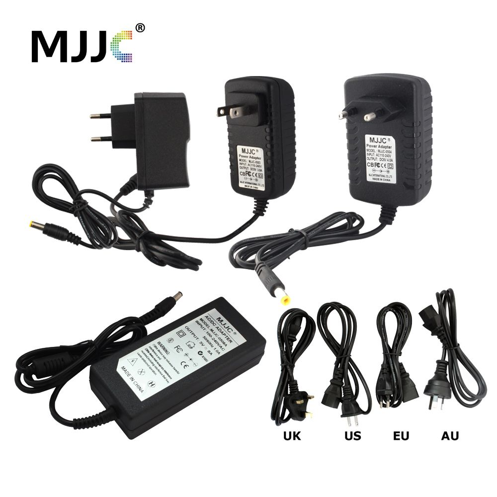 5 Volt Power Adapter 110V 220V AC to 1A 2A 3A 4A 5A 6A 8A 10A 5 Volt Power Supply Adapter LED Driver for Strip Light