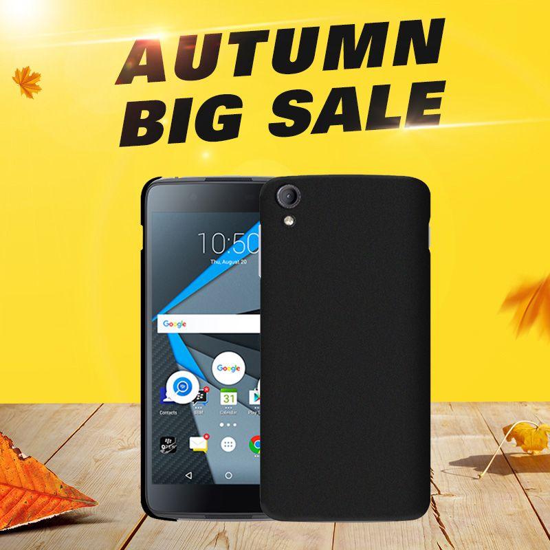 SIKAI Haute qualité Super ultra mince slim shell pour BlackBerry Dtek 50 En Caoutchouc Peau Mat Cas de Couverture Arrière pour BlackBerry Dtek50