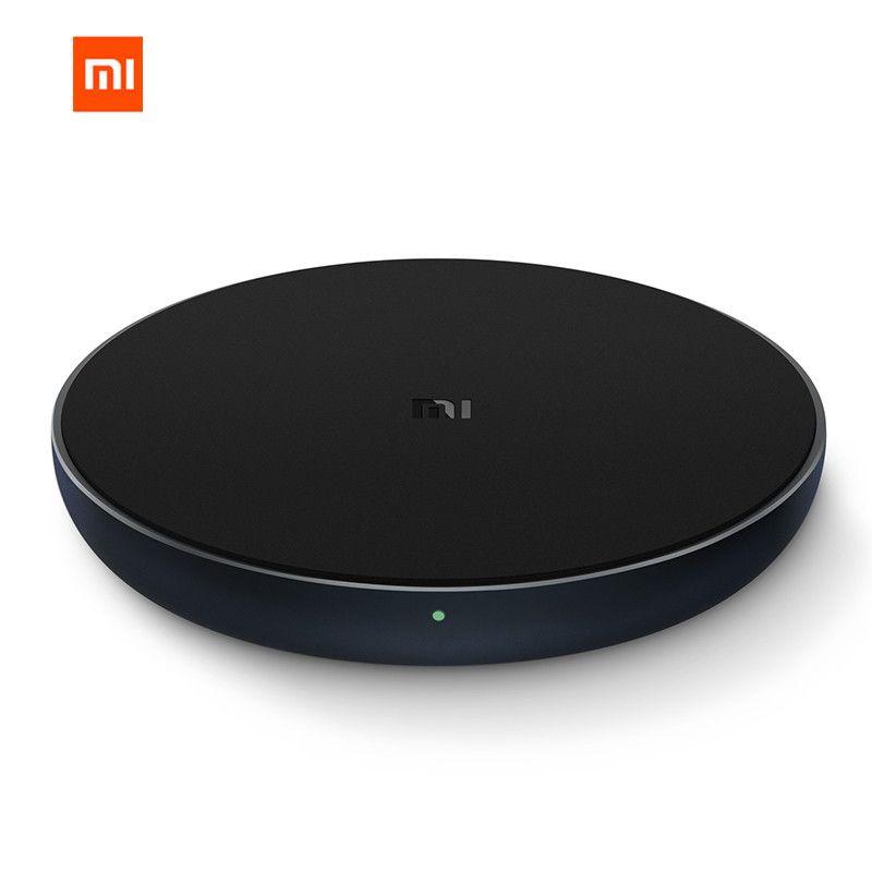 D'origine Xiaomi WPC01ZM 10 w MAX Charge Rapide Qi Sans Fil Chargeur Type-c pour iPhone pour Samsung Pour huawei en stock
