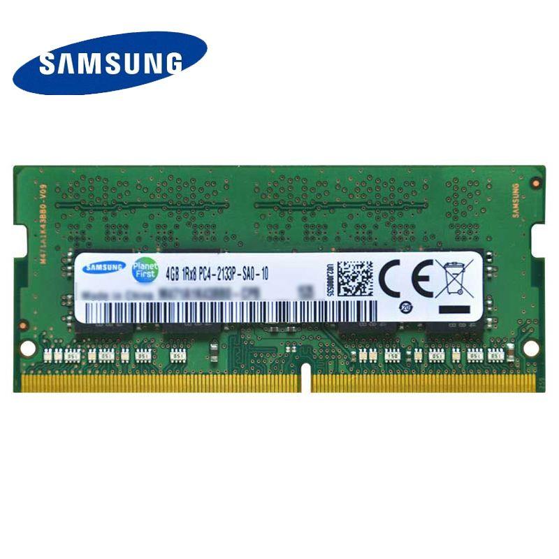 SAMSUNG DDR4 4G 8G 16G  Laptop Memory RAM 2133 2400 Memoria DRAM Stick for Notebook 100% Original 4GB 8GB 16GB