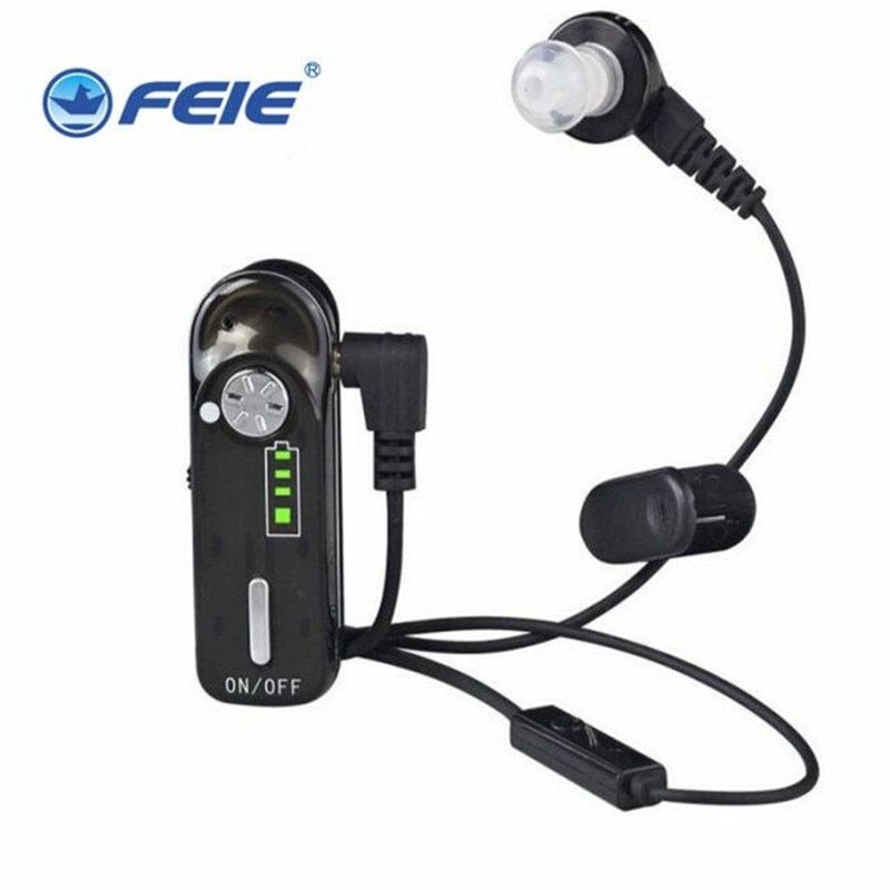 FEIE listen device mini amplifier kit hearing aid in your ear C-06 headphones useful things free shipping