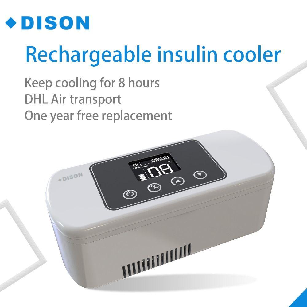 Insulin Kühlschrank batterie betrieben Tragbare mini kühlschrank insulin kühlbox Diabetes Tasche