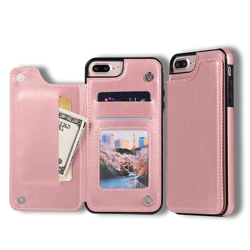 Luxury Wallet Cover Fundas For iPhone 11 Pro Max Soft Silicone Case For iPhone 5 5s SE 6 6s 8 7 Plus X XR XS MAX Leather Phone Back Cases Capinha Shell