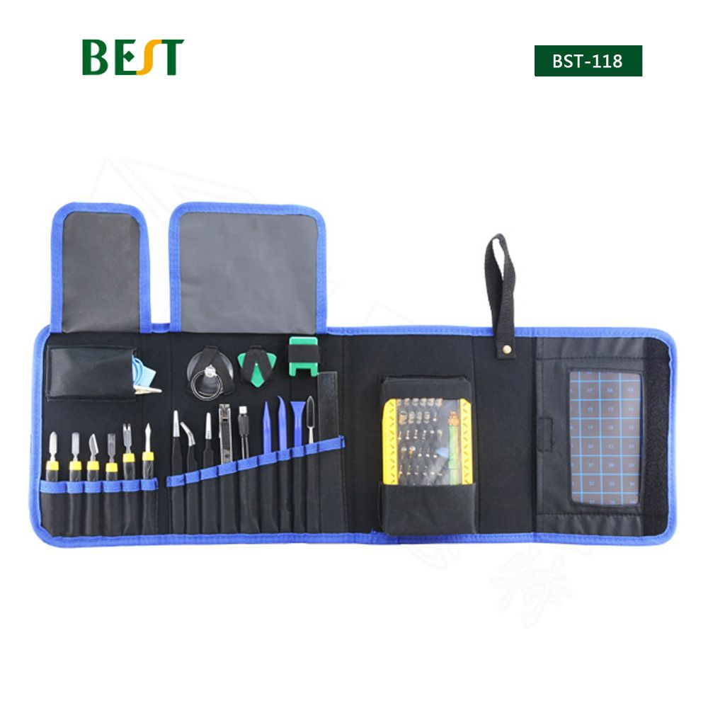 67 in 1 BST-118 Multi-purpose Toolkit Mobile Smart Phone Repair Tool Kit For Iphone Watch Tablet PC Hand Tools Set