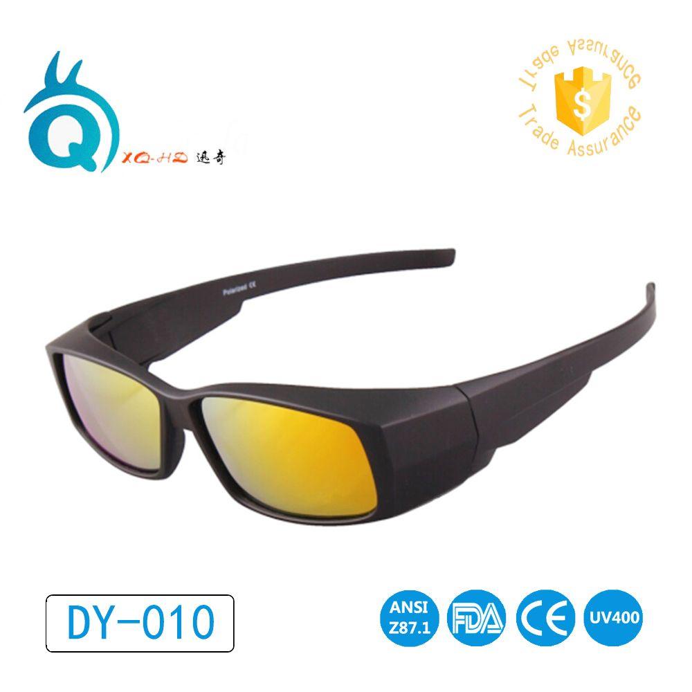Polarisées Lentille Couvre lunettes de Soleil Fit Plus lunettes de Soleil Porter Sur Myopie Pour En Plein Air Racing Sport lunettes de Soleil De Golf lunettes